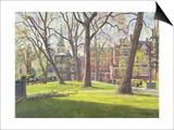 Mount Street Gardens, London Prints by Julian Barrow