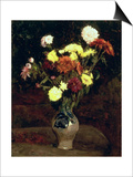 Still Life of Flowers Print by Vincent van Gogh
