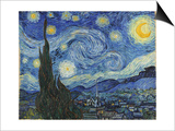 The Starry Night, June 1889 Prints by Vincent van Gogh