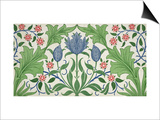 Floral Wallpaper Design Prints by William Morris