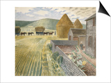 Furlongs Posters by Eric Ravilious