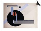 Proun N 89 (Kilmansvaria), c.1925 Posters af El Lissitzky