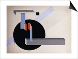 Proun N 89 (Kilmansvaria), c.1925 Posters by El Lissitzky