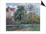 Orchard at Maubisson, Pontoise, 1876 Poster par Camille Pissarro