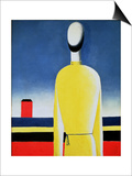 Torso in a Yellow Shirt, 1928-32 Posters af Kasimir Malevich