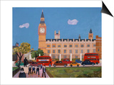 Big Ben and Parliament Square Prints by William Cooper