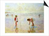 Beach Scene Prints by Charles-Garabed Atamian
