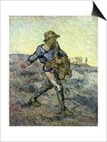 The Sower (After Millet) 1890 Prints by Vincent van Gogh