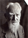 Portrait of George Bernard Shaw, February 1933 Posters by  English Photographer