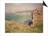 Cliff at Varengeville, 1882 Prints by Claude Monet