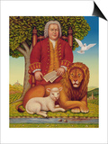J.S. Bach's (1685-1750) Peaceable Kingdom, 2000 Posters by Frances Broomfield