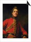 Lt. Col Morrison of the 7th Dragoon Guards Poster by Sir Henry Raeburn