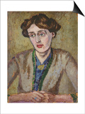 Virginia Woolf (1882-1941) Posters by Roger Eliot Fry