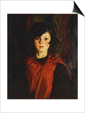 Mary Ann (Mollie), 1926 Prints by Robert Henri