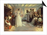 The Wedding Morning, 1892 Poster by John Henry Frederick Bacon