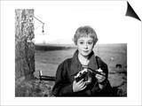 Giuletta Masina in 'La Strada', 1954 Poster