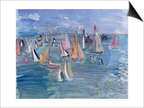 Regatta Prints by Raoul Dufy
