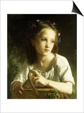 La Petite Ophelie, 1875 Posters by William Adolphe Bouguereau
