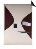 Proun N 90 (Ismenbuch), 1925 Plakater af El Lissitzky