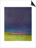 Prescience, Malvern Diptych 1, 1998 Posters by Pamela Scott Wilkie