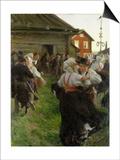 Midsummer Dance, 1897 Prints by Anders Leonard Zorn