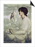 The Day Dream, 19th Century Posters by Dante Charles Gabriel Rossetti