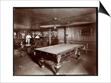 The Bar at Janer's Pavilion Hotel, Red Bank, New Jersey, 1903 Prints by  Byron Company