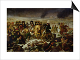 Napoleon on the Battle Field of Eylau, 9th February 1807, 1808 Poster by Baron Antoine Jean Gros
