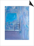 Blue Interior, 1998 Prints by Pamela Scott Wilkie