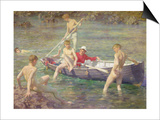 Ruby, Gold and Malachite, 1902 Posters by Henry Scott Tuke
