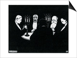 Poker, 1896 Prints by Félix Vallotton