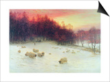 When the West with Evening Glows, Exh.1910 Print by Joseph Farquharson
