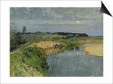 Silence Poster by Isaak Ilyich Levitan