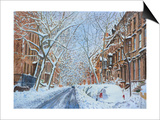 Snow, Remsen St. Brooklyn NY, 2012 Prints by Anthony Butera