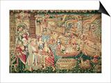 The Arrival of Vasco Da Gama in Calcutta, 20th May 1498 Poster