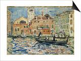 Venice, c.1909 Prints by Maurice Brazil Prendergast