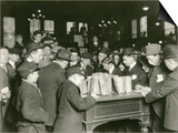 Trading at the Cash Tables Wheat Pit, Chicago, 1931 Prints by  American Photographer