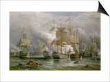 The Battle of Cape St. Vincent, 14th February 1797 Posters by Richard Bridges Beechey