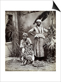 Women, Jamaica Print by J. W. Cleary