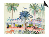 View of Le Suquet, Cannes Prints by Raoul Dufy