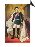 Portrait of Ludwig II Prints