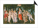 Primavera, circa 1478 Prints by Sandro Botticelli