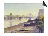 Albert Bridge Art by Julian Barrow