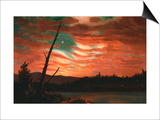 Our Banner in the Sky Posters by Frederic Edwin Church