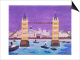 Tower Bridge Posters by William Cooper