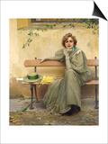 Sogno a occhi aperti Stampe di Vittorio Matteo Corcos