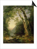 The Catskills, 1859 Prints by Asher Brown Durand
