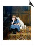 Sympathy, 1877 Posters by Briton Rivière