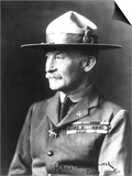 Lieutenant General Sir Robert Stephenson Smyth Baden-Powell (1857-1941) Poster by  French Photographer