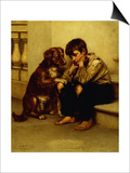 Best Friends Prints by John George Brown